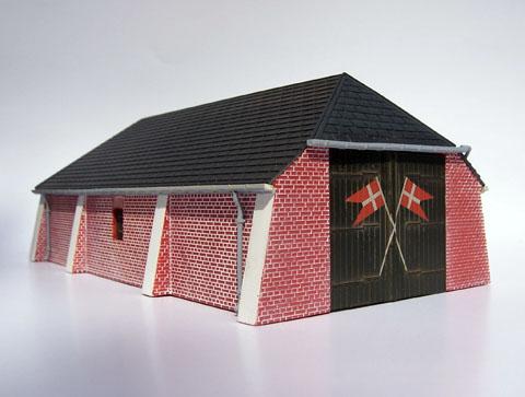Sønderho redningsstation, byggesæt fra Danscale